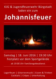Plakat Johannisfeuer 2016